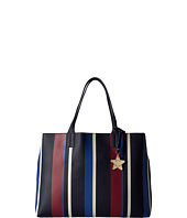 Tommy Hilfiger - Logo Story Tote Stripe Pebble