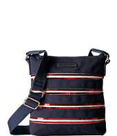 Tommy Hilfiger - Canvas Flag North/South Crossbody Canvas w/ Sequin