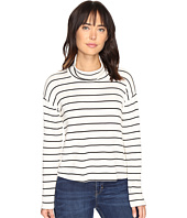 Splendid - Dune Stripe Crop Turtleneck