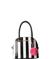 Betsey Johnson - Candy Cane Dome Satchel