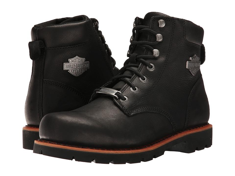 Harley Davidson Vista Ridge (Black) Men's Lace-up Boots