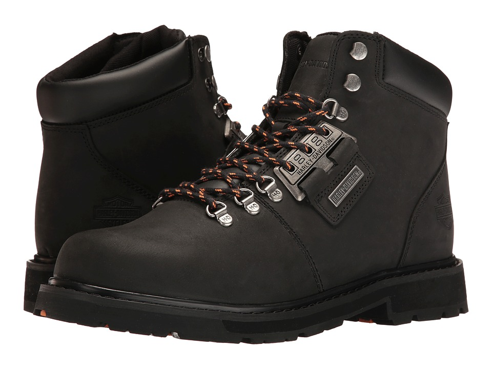 Harley Davidson Templin (Black/Black) Men's Lace-up Boots