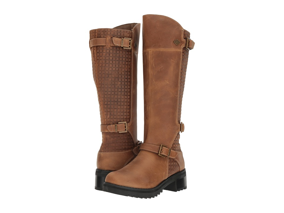 Harley Davidson Kedvale (Tan) Women's Pull-on Boots