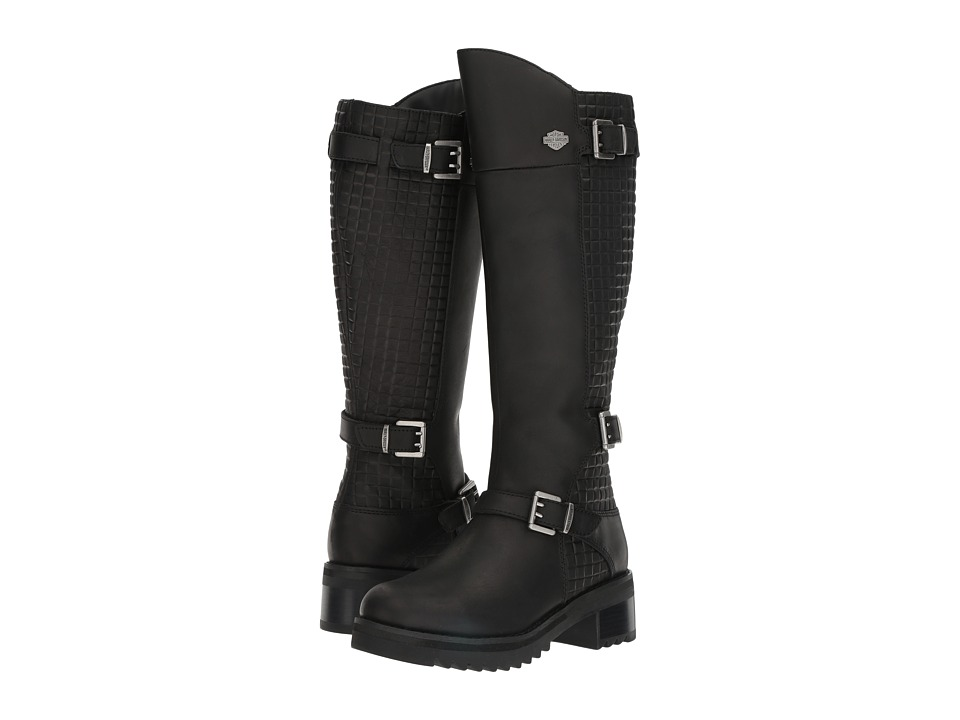 Harley Davidson Kedvale (Black) Women's Pull-on Boots