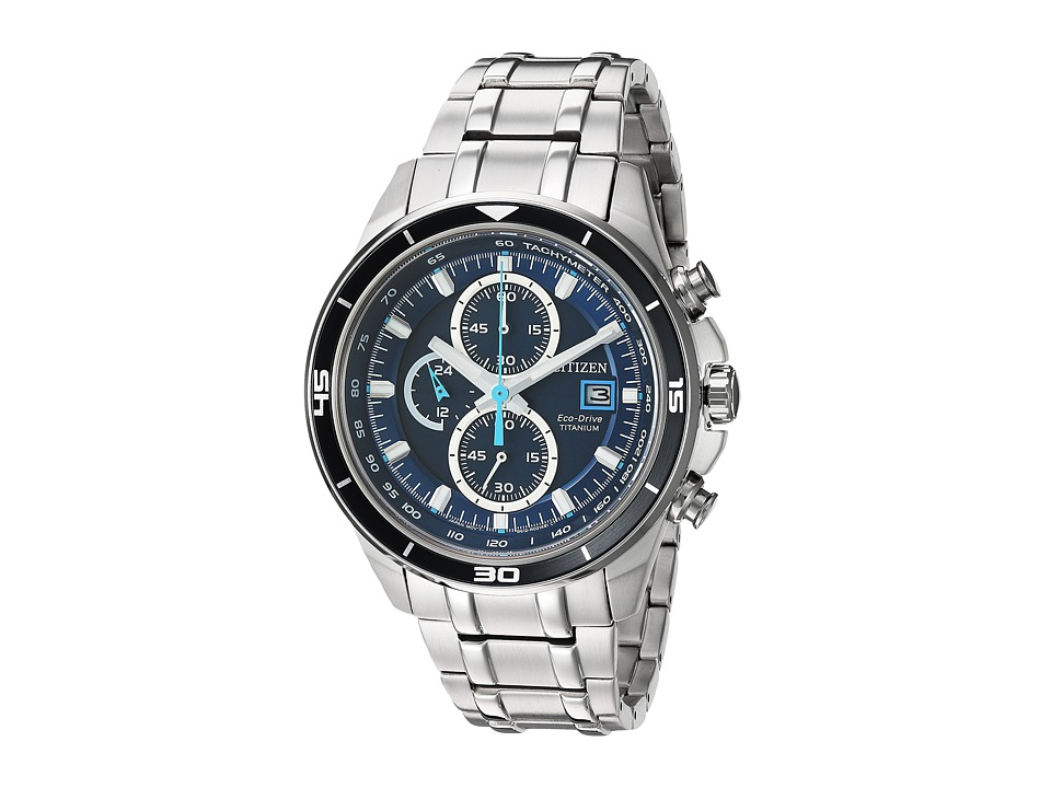 Citizen Watches - CA0349-51L Eco-Drive (Silver Tone) Watches