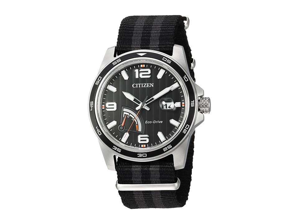 Citizen Watches - AW7030-06E Eco-Drive (Black/Grey) Watches