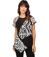 Karen Kane - Multi-Lace Panel Top