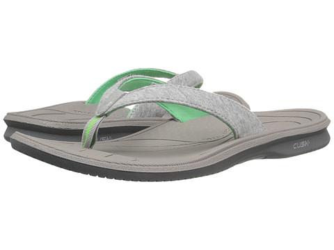 New Balance Cush+ Heathered Thong - Grey/Green