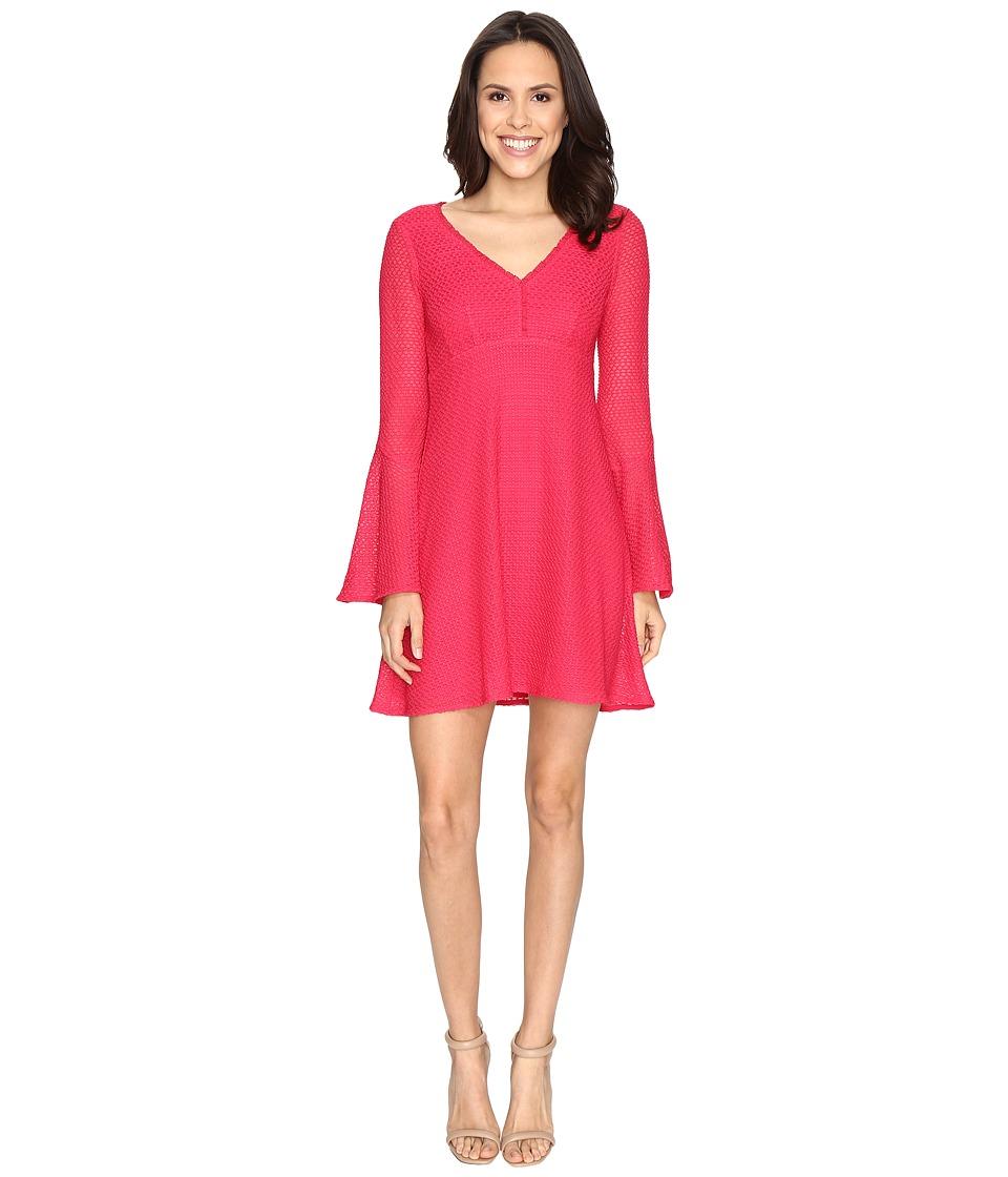 Nanette Lepore Ciao Bella Shift Dress (Strawberry) Women