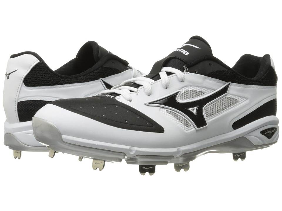 Mizuno - Dominant IC Low (White/Black) Mens Cleated Shoes