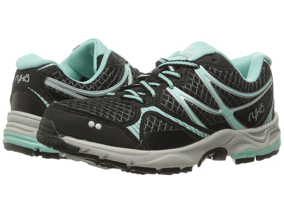 Ryka Revive RZX (Black/Yucca Mint/Chrome Silver) Women