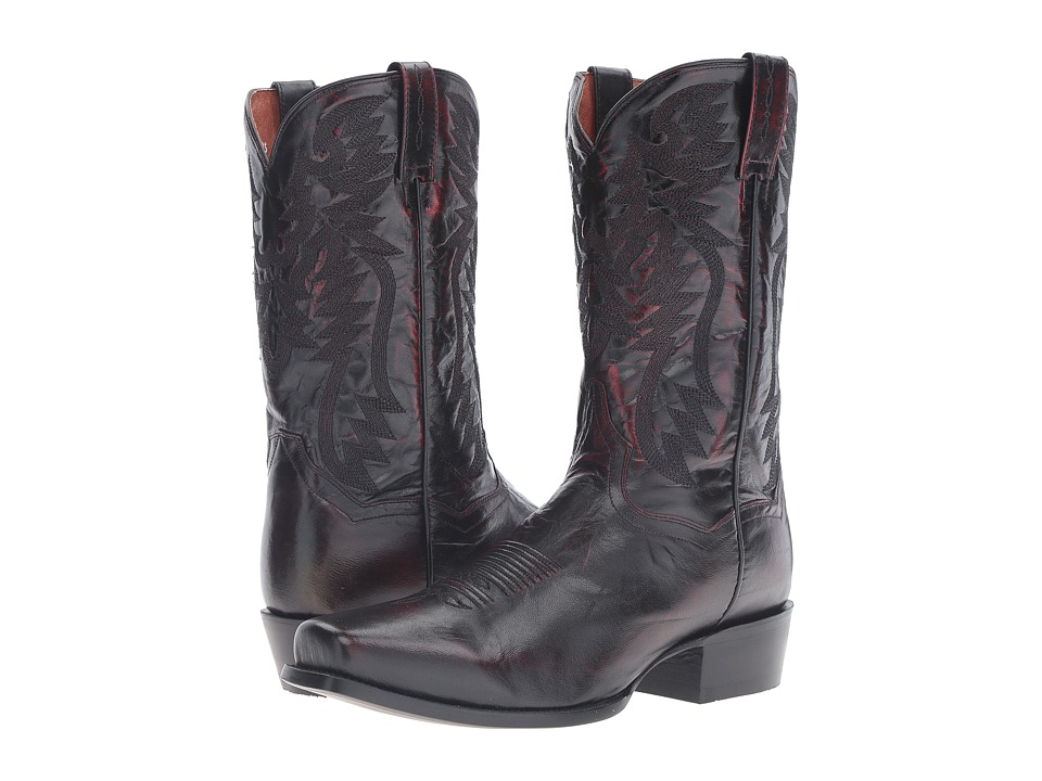 Dan Post Crosby (Black Cherry) Cowboy Boots
