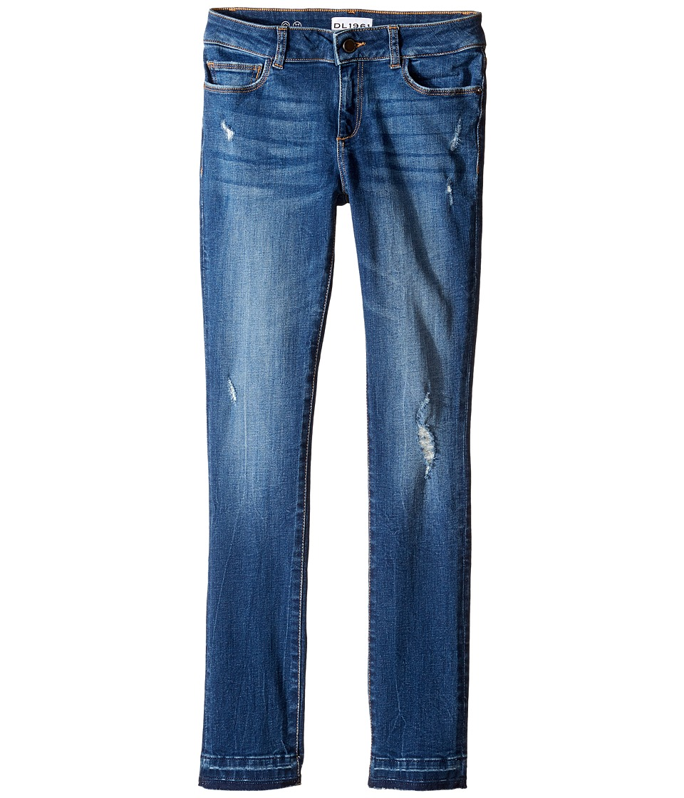 DL1961 Kids Chloe Skinny Jeans in Thrive (Big Kids) (Thrive) Girl
