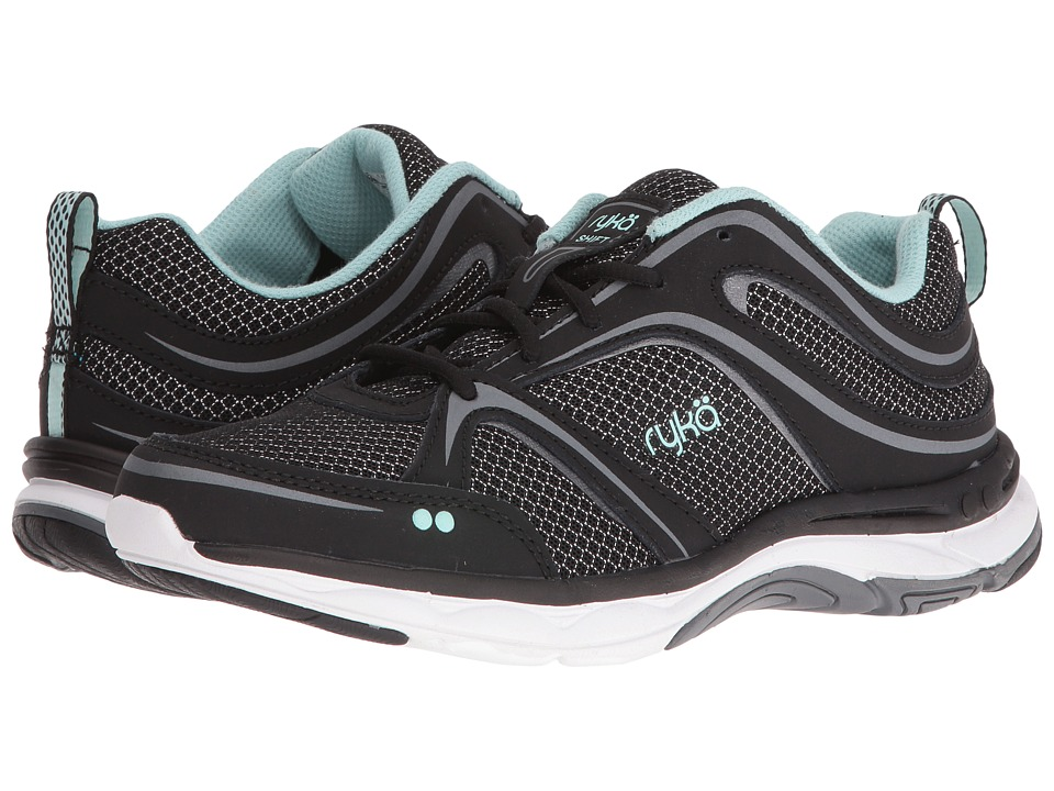 Ryka - Shift (Black/Meteorite/Eggshell Blue) Womens Shoes