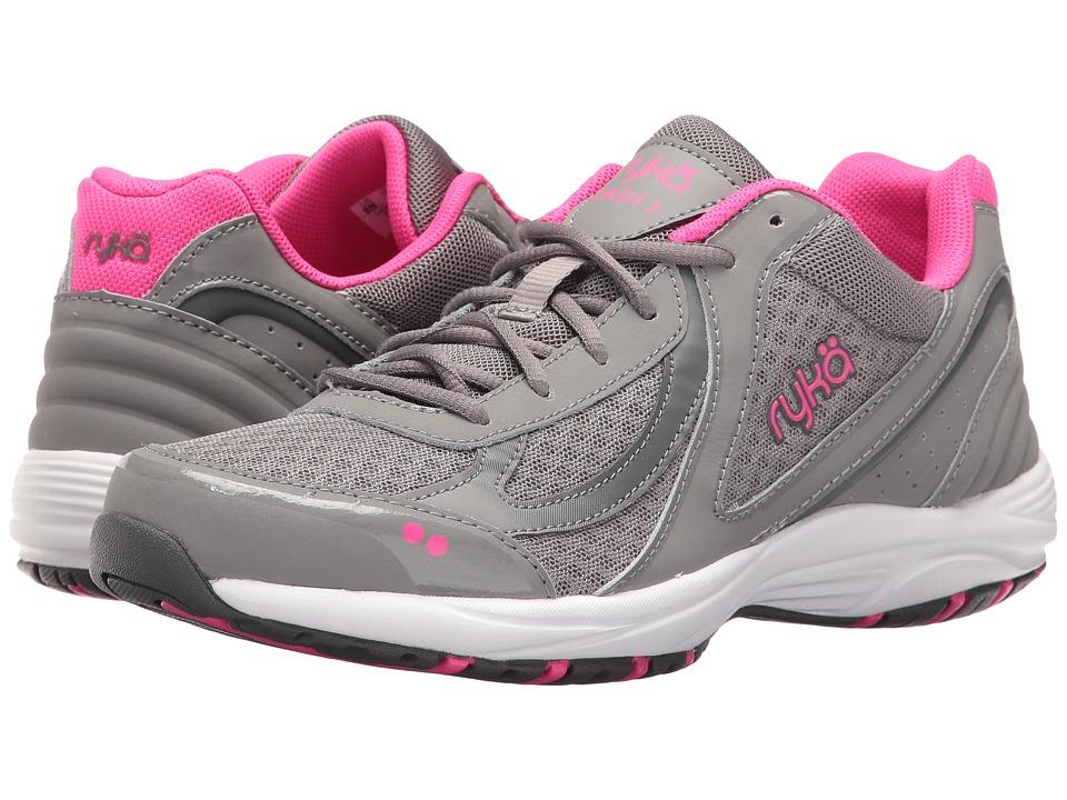 Ryka - Dash 3 (Frost Grey/Steel Grey/Athena Pink/Cool Mist Grey) Womens Walking Shoes