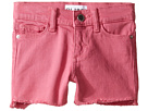 DL1961 Kids Lucy Cut Off Shorts in Sherbet (Toddler/Little Kids)