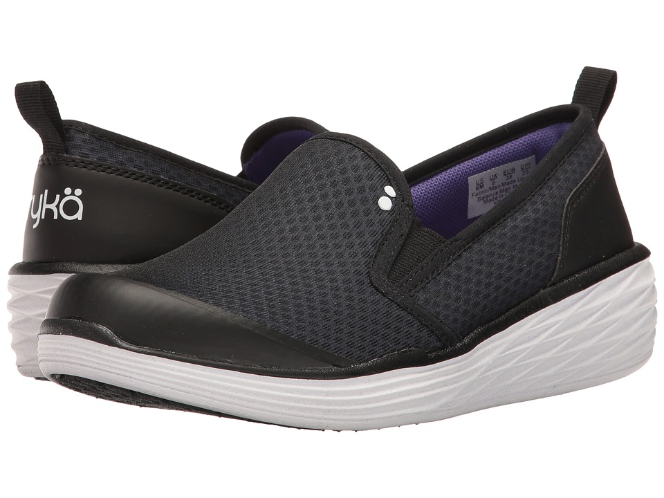 Ryka Neve (Black/Ultra Violet/White) Women
