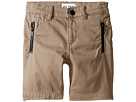 DL1961 Kids Finn Chino Jogger Shorts in Hutch (Toddler/Little Kids/Big Kids)