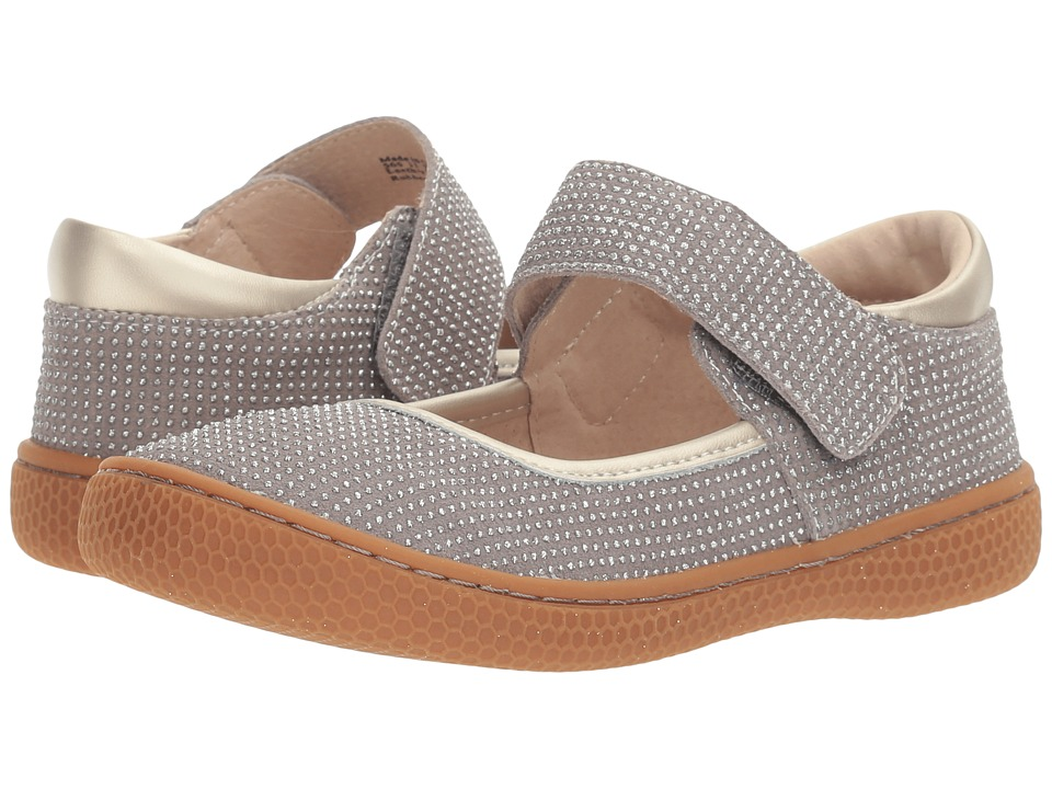 Livie & Luca - Gemma (Little Kid) (Grey Sparkle) Girls Shoes