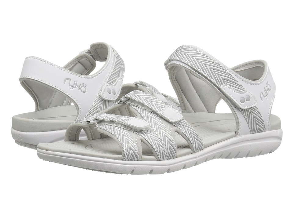 Ryka Savannah (White/Summer Grey) Women's Shoes