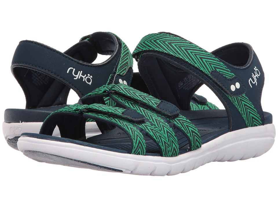 Ryka Savannah (Insignia Blue/Shamrock Green) Women's Shoes