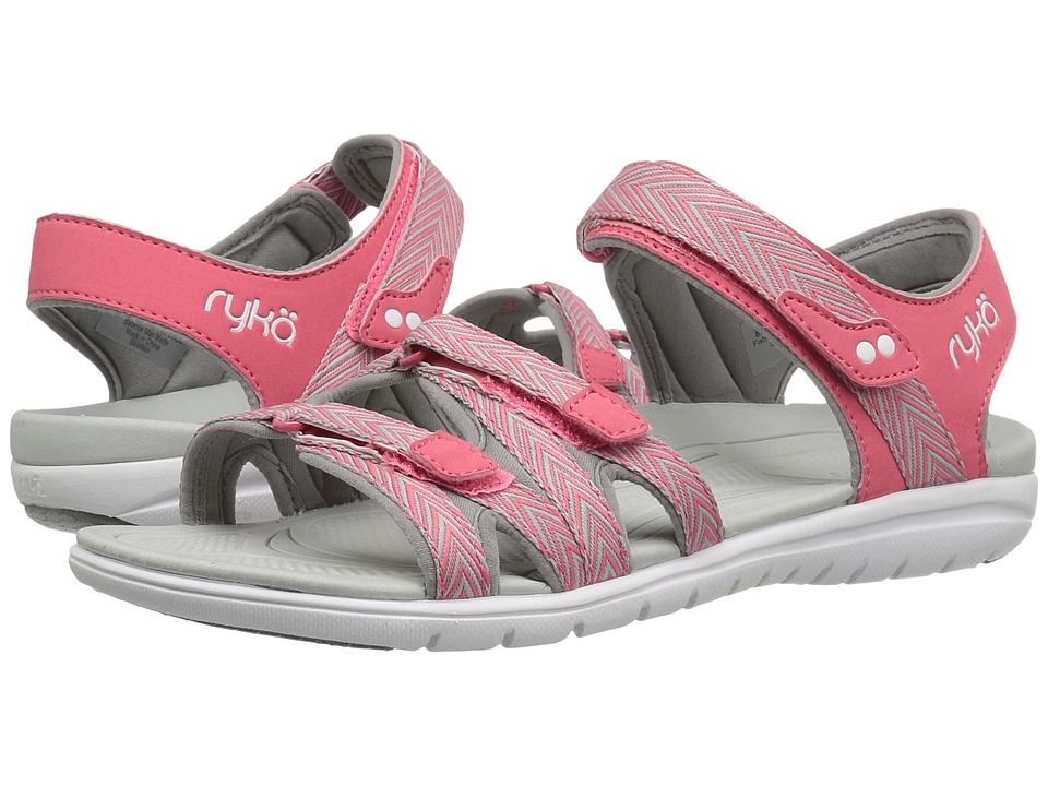 Ryka Savannah (Calypso Coral/Frost Grey/Summer Grey) Women's Shoes