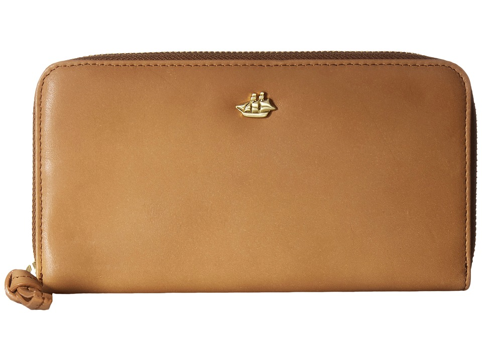 Brahmin Suri (Tan) Clutch Handbags