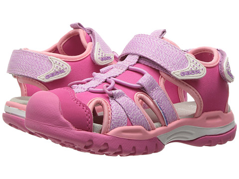 Geox Kids Jr Borealis Girl 3 (Toddler/Little Kid) - Lilac/Light Coral