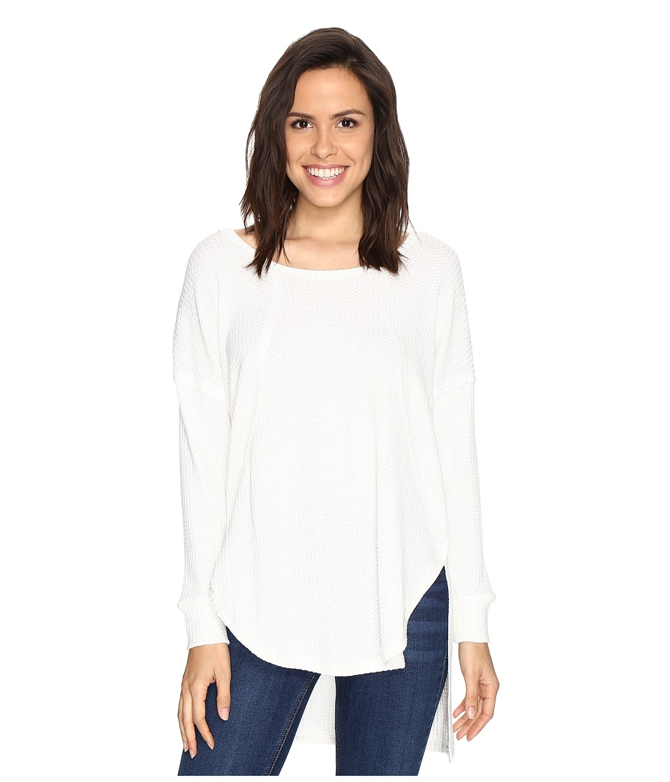 Culture Phit - Luca Long Sleeve Thermal Top (Off-White) W...