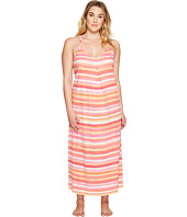 LAUREN Ralph Lauren - Plus Size Striped Maxi Gown