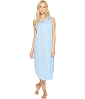 LAUREN Ralph Lauren - Cotton Rayon Lawn Sleeveless Gown