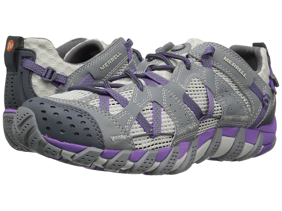 Merrell - Waterpro Maipo (Grey/Royal Lilac) Womens Cross Training Shoes