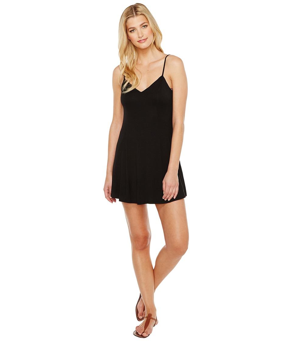 Brigitte Bailey Aby Spaghetti Strap Dress (Black) Women