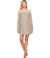 Brigitte Bailey - Adelina Off the Shoulder Dress with Buttons