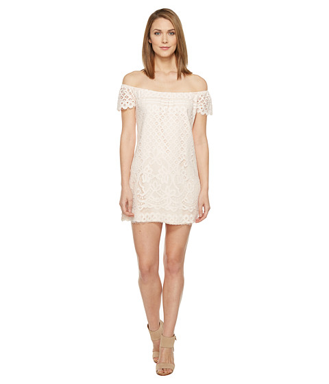 Brigitte Bailey Michelina Off the Shoulder Lace Dress