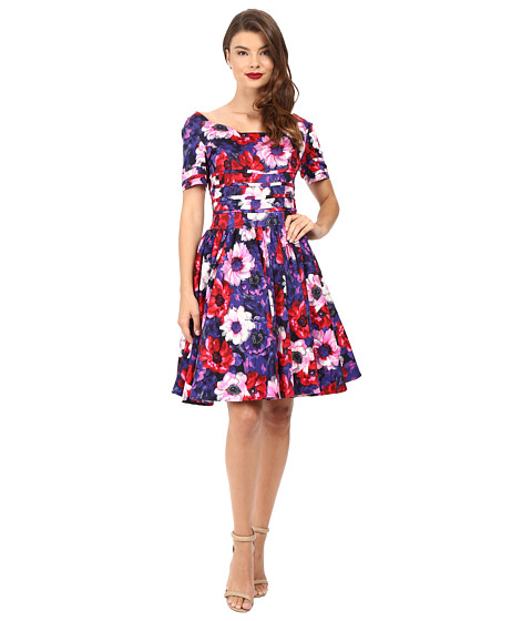 Cap Sleeve Holiday Dresses 97