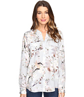 Calvin Klein - Printed Roll Sleeve Blouse