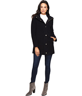 Ellen Tracy - Plush Wool Military Coat