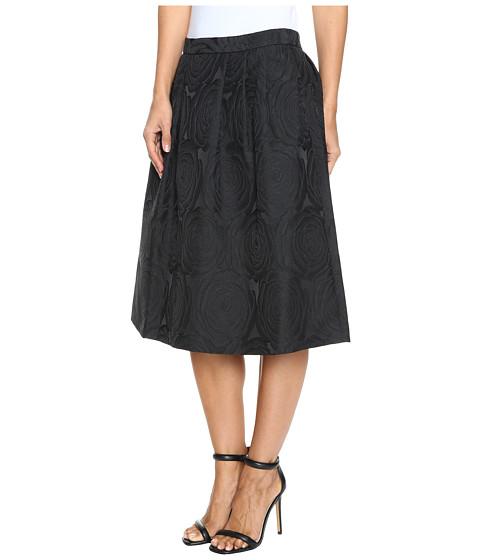 calvin klein a line jacquard skirt black 6pm