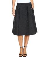 Calvin Klein - A-Line Jacquard Skirt