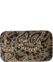 Alice + Olivia - Golden Paisley Large Clutch