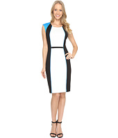 Calvin Klein - Blocked Sheath Dress