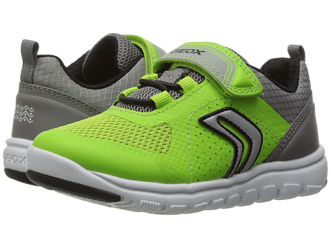 Geox Kids Jr Xunday Boy 1 (Toddler/Little Kid) - Lime/Grey