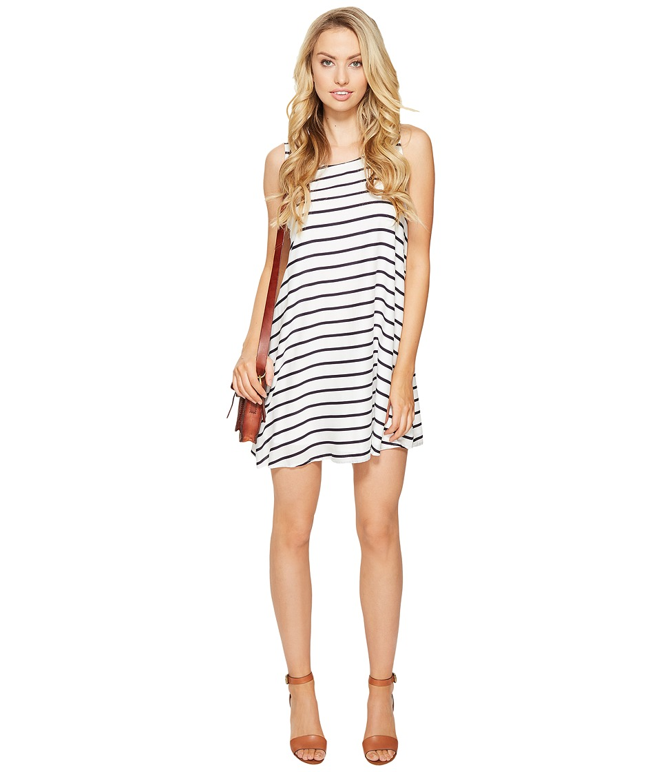 BB Dakota Shaye Striped Shift Dress (Navy) Women