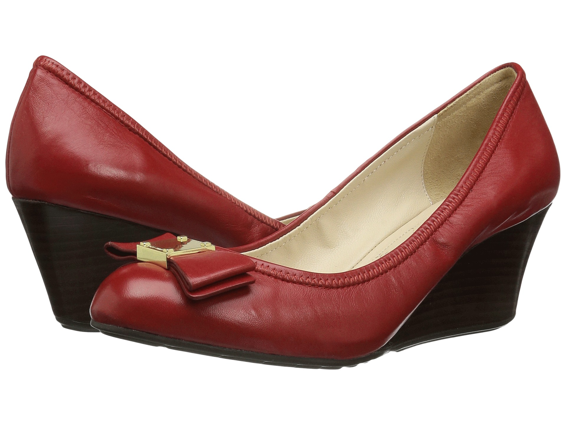 Cole Haan Tali Grand Bow Wedge 65 at 6pm.com