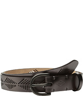 Fossil - Diamond Stripe Perf Belt