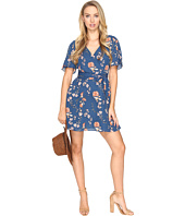 BB Dakota - Laselle Printed V-Neck Dress