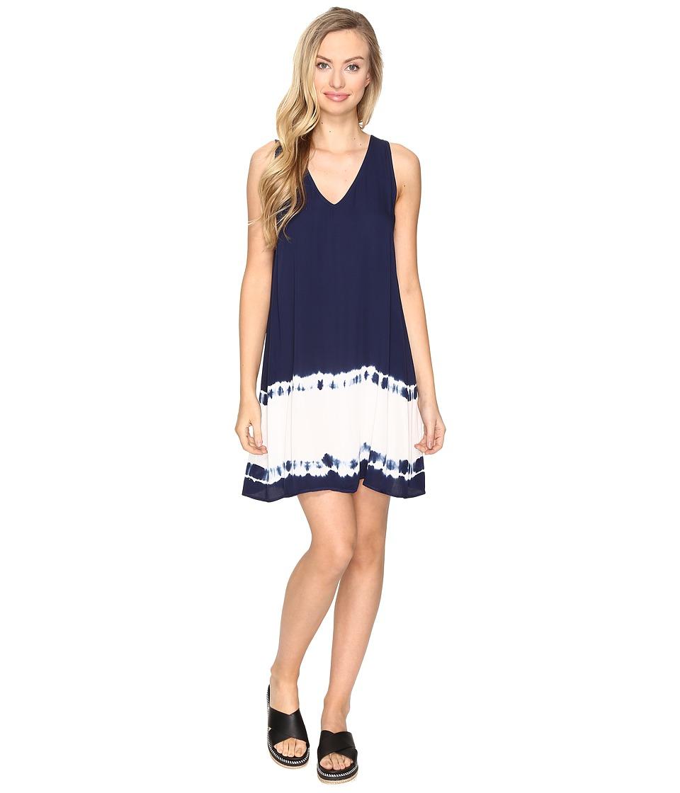 BB Dakota Kaley Ombre Shift Dress (Navy) Women