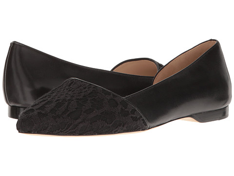 Cole Haan Amalia Skimmer - Black Lace/Leather