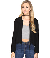 BB Dakota - Troy Cropped Bomber Jacket